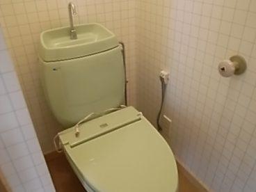 トイレはホット便座!