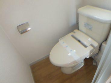 ウォシュレットトイレですよ