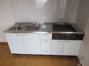 キッチン付き 広くて使いやすいですね!