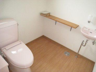 トイレも悠悠スペース。