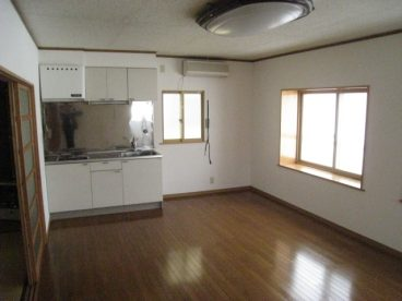 2階の広いリビング。2世帯も可能!