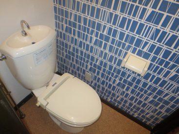 トイレもオシャレにリフォームしてますよ