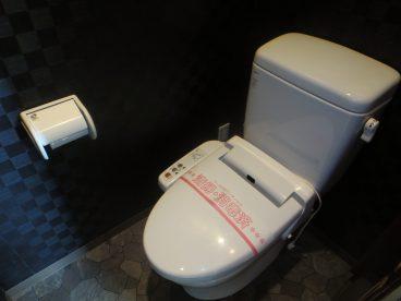 トイレもキレイ