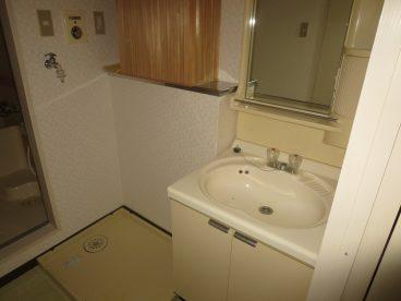 浴室の隣に化粧台や洗濯機置き場があるって、すごく生活するのに便利なんです。