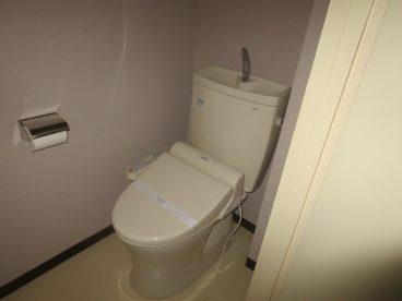トイレはもちろん洋式。