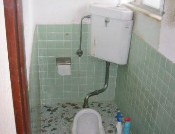 トイレとお風呂はわかれています