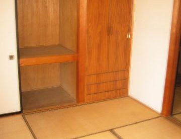 二部屋ある和室。寝室と居間と別けて生活できますね