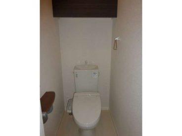 トイレは腰にやさしい洋式トイレ