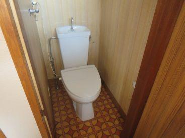 トイレは洋式。高齢の方にもオススメします