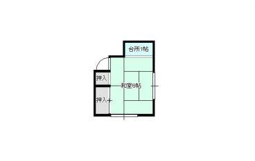 梅田ハウス(貸間)の間取り画像