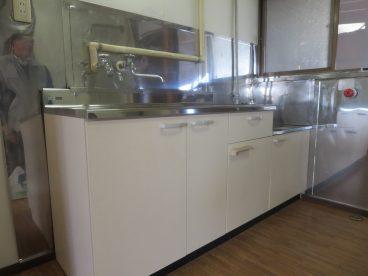 平成29年5月に新設したキッチンです