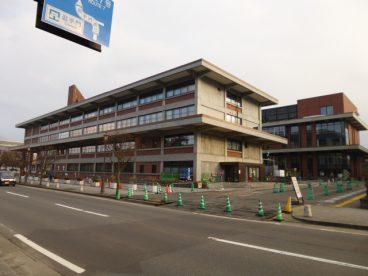 弘前市役所徒歩5分ですよ