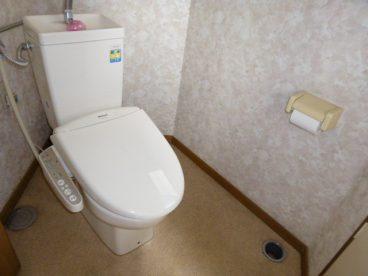 トイレは洋式が設置されてます。