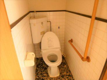 トイレは洋式で快適♪