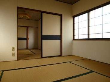 二部屋の続きのお部屋です。片方を趣味の部屋というのもいいですね
