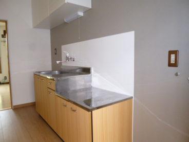 キッチンは一人暮らしに丁度良い大きさです!