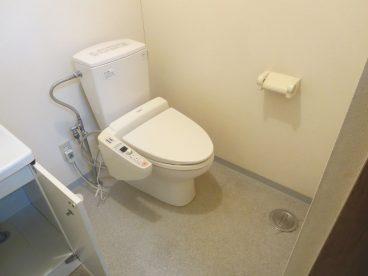 トイレは洋式ウォシュレット