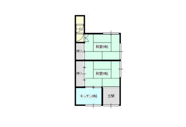 稲田2丁目小野住宅(物置・倉庫用)の間取り画像