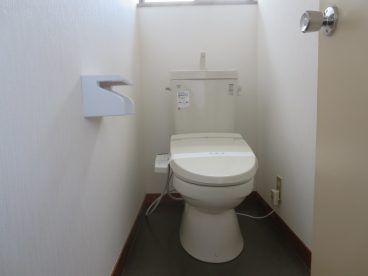 トイレは洋式!