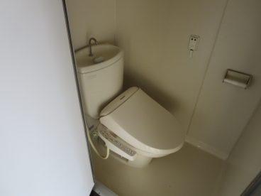 トイレもシングルタイプ
