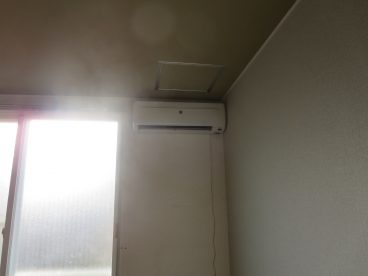 エアコンも設置されてます