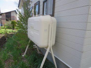 ホームタンクもついてます。冬の給油負担が軽減