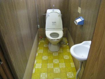 トイレは高齢者にやさしい洋式