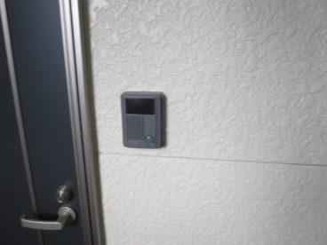 TVモニタ付きインターホンで防犯面も安心