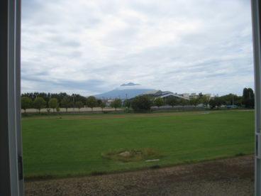 岩木山も見えます^^