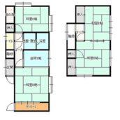 中野2丁目福田住宅4Kの間取り画像