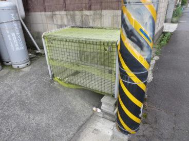 ゴミ箱もアパート前にありますので、出勤前に捨てる事ができますね