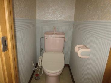 トイレはもちろん洋式
