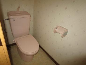 トイレはもちろん洋式 部屋ごとにカラーバリエーションがあります