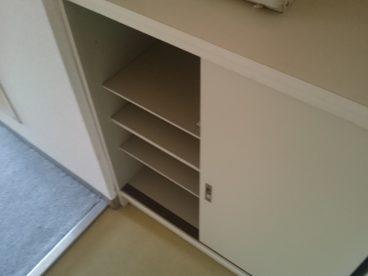 靴箱もあるので整理整頓しやすいですね!