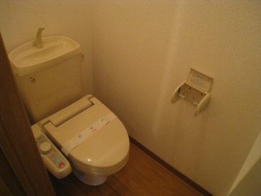 ウォシュレットトイレですよ!!