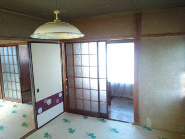 広い和室が広がってます。