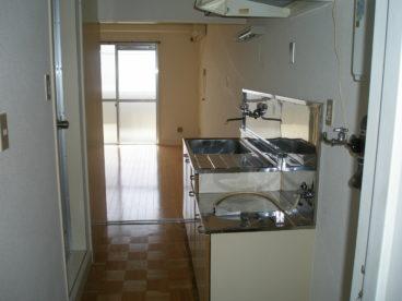 一人暮らしに丁度良さそうな台所