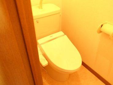 洋式トイレです!!
