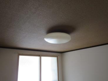 LED証明なのでお部屋は広く感じますね^^