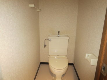 トイレは洋式! 子供もらくちん