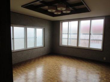 10畳のお部屋。なかなかないですよ