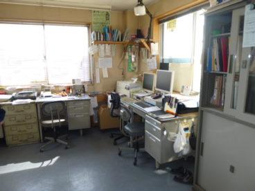 広い事務所です。