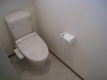 洋式トイレが綺麗です!