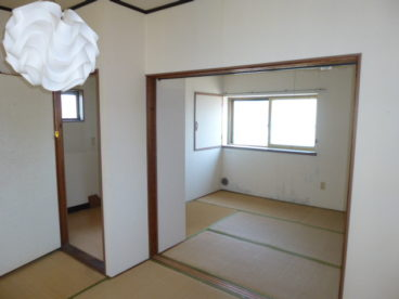 2階も明るくて気持ちのいい和室です!