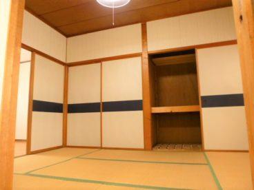 こちらは和室のお部屋。寝室にいかがでしょう?