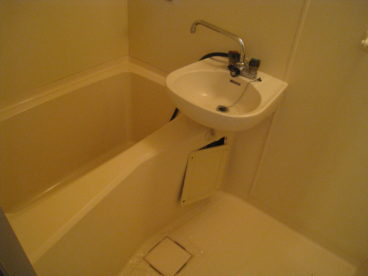 お風呂は2点ユニットです♪