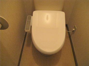 トイレはウォシュレットです。