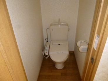 トイレは洋式。