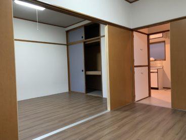 寝室と居住スペースと分けてお住まい出来ますね^^