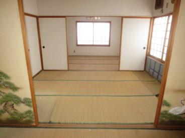3部屋の続き間。開け放って18畳の部屋にしてもいいかも